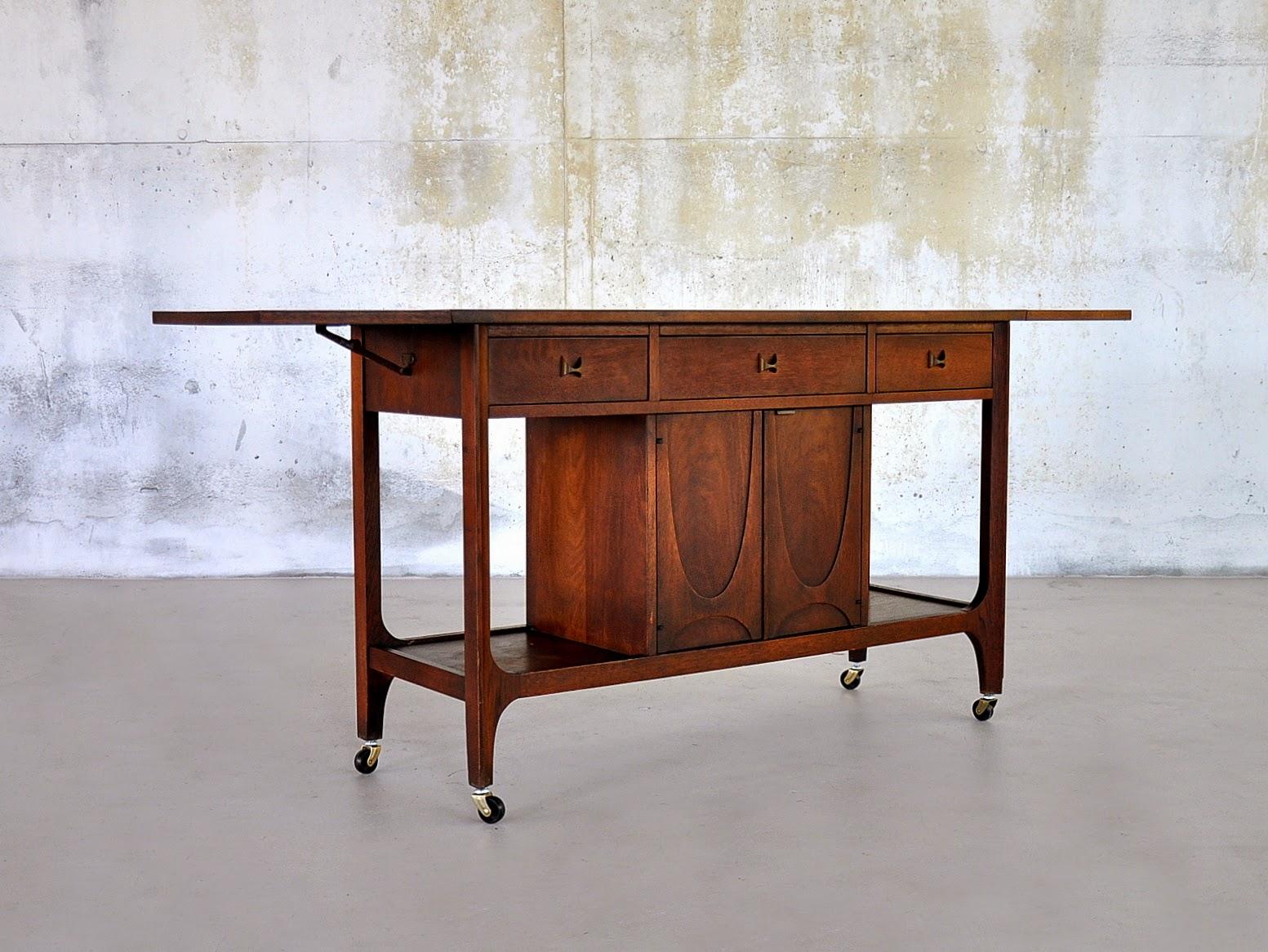 select modern brasilia rolling bar serving cart. Black Bedroom Furniture Sets. Home Design Ideas