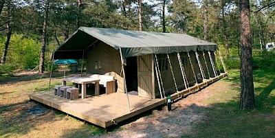 Safarizelt Landal Coldenhove