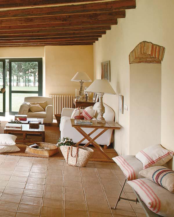 Great spanish house in rustic style - Casas de campo el mueble ...