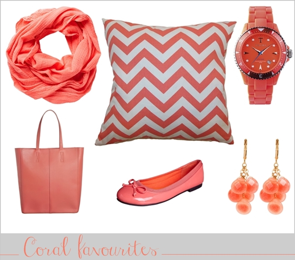 coral, coral colour, coral accessories