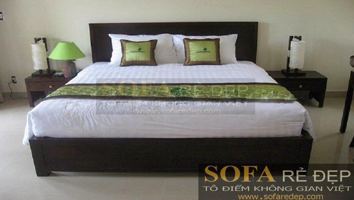 Giường ngủ GN017