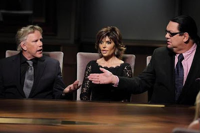 Gary Busey, Lisa Rinna and Penn Jillette on All-Star Celebrity Apprentice