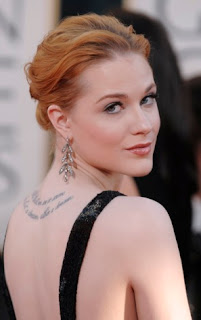 Evan Rachel Wood Tattoo Designs