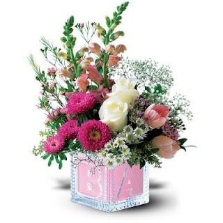 Order Flowers for Baby Girl