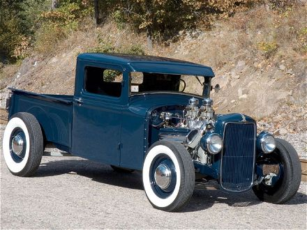 Hot Rod Ford Pickups