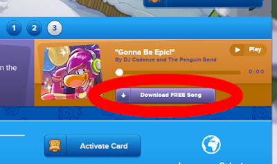 "Club Penguin ""Gonna Be Epic"" song"