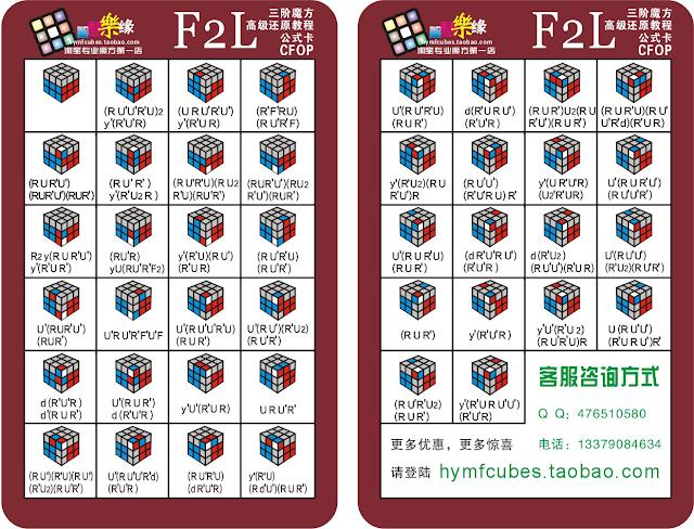 F2L Rubik