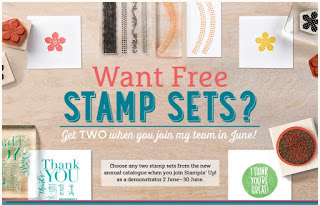 Get two extra FREE stamp sets with zena kennedy independent stampin up demonstrator