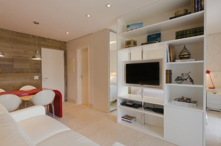 Como Organizar Sala De Tv ~ Salas de estar e jantar pequenas e integradas  veja dicas + modelos