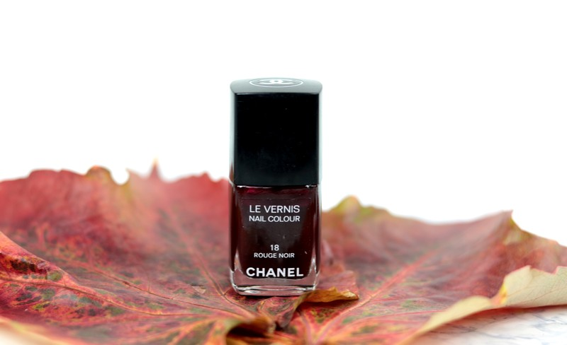 Rouge noir Chanel vernis dupes
