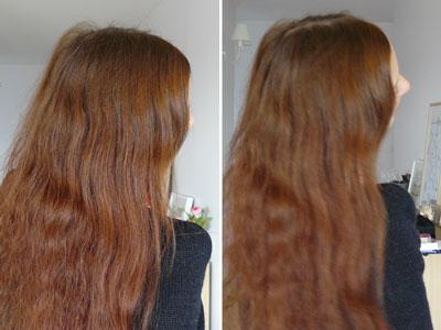 Le masque pour les cheveux avec la vitamine в6 et в12 le miel