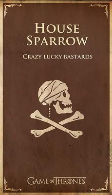 casa Sparrow - Juego de Tronos en los siete reinos