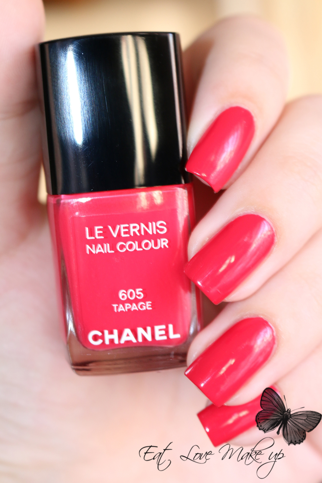 Chanel Le Vernis Nail Colour 605 Tapage