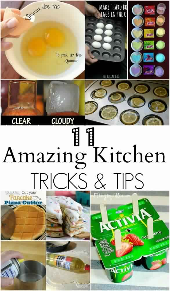 11 Amazing Kitchen Tips and Tricks