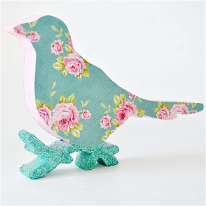 Pretty wooden birds by Torie Jayne