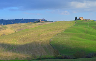 Views of the Val d'Orcia, Italy (Tuscany)