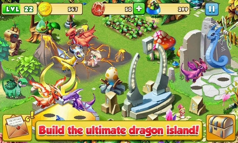 Android Games Dragon Mania Offline Asik - 3
