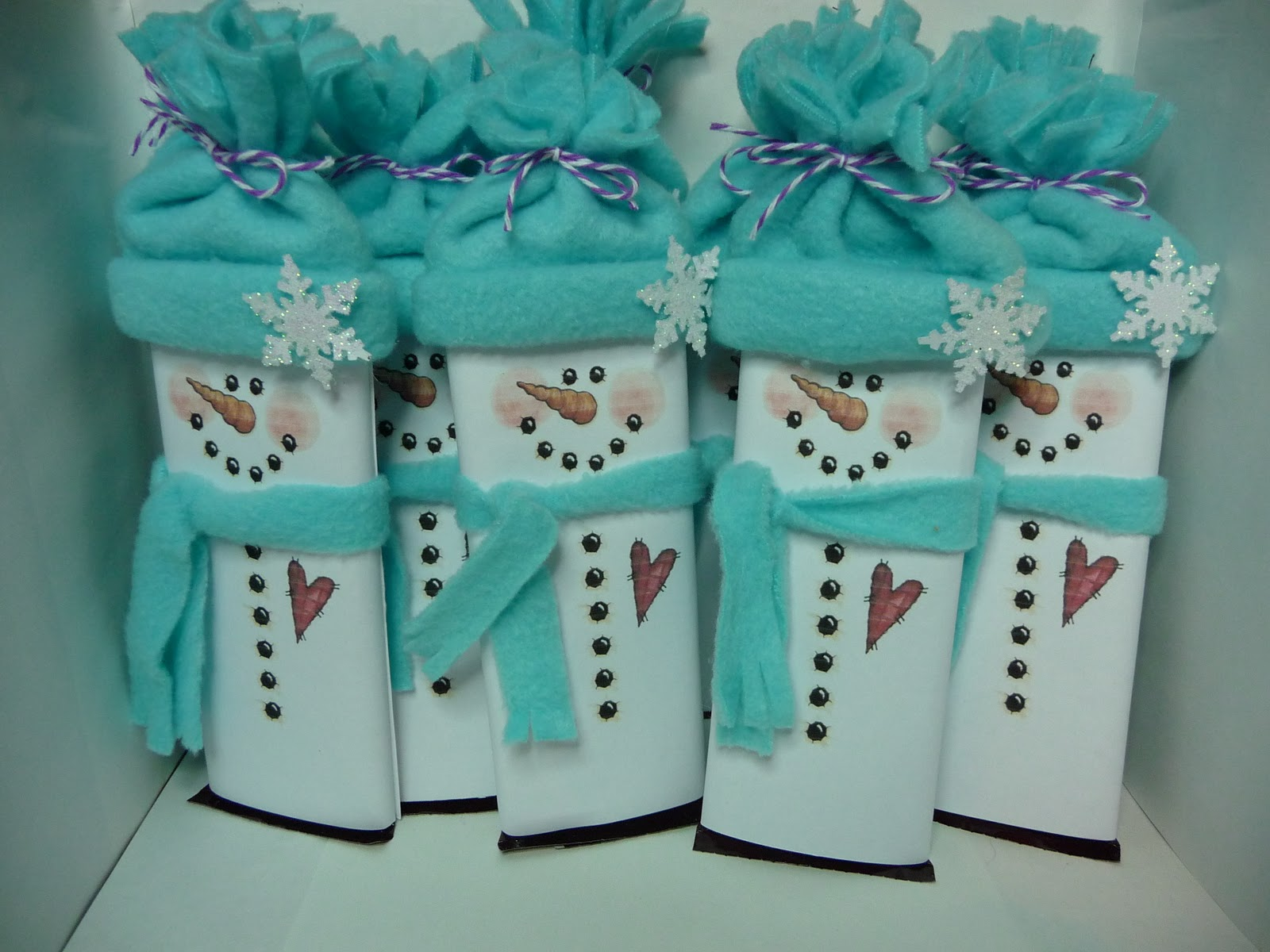 Amy 39 s Crafting Space Snowman Candybar Gift Wrappers