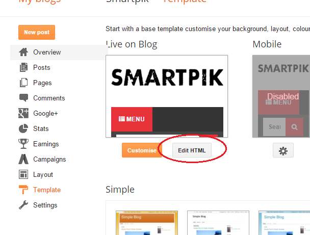 Disqus comments onclick event for blogger smartpik4 go to template edit html maxwellsz