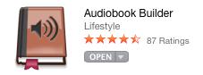 https://itunes.apple.com/us/app/audiobook-builder/id406226796?mt=12