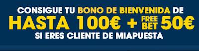 Si tienes cuenta en Miapuesta.es y te registras en William Hill.es podrás conseguir un bono de 100 euros y una freebet de 50 euros blog jrvm