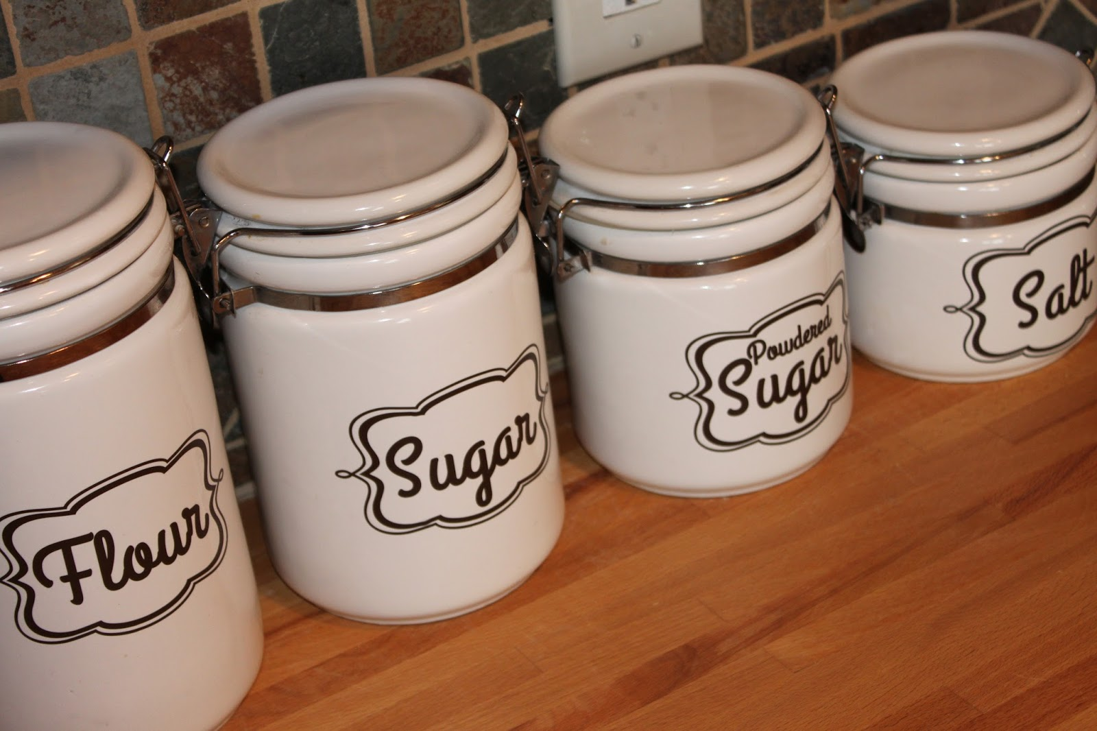 kitchen canister labels burton avenue 25 best ideas about labels for jars on pinterest