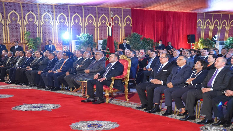 El rey Mohammed VI de Marruecos