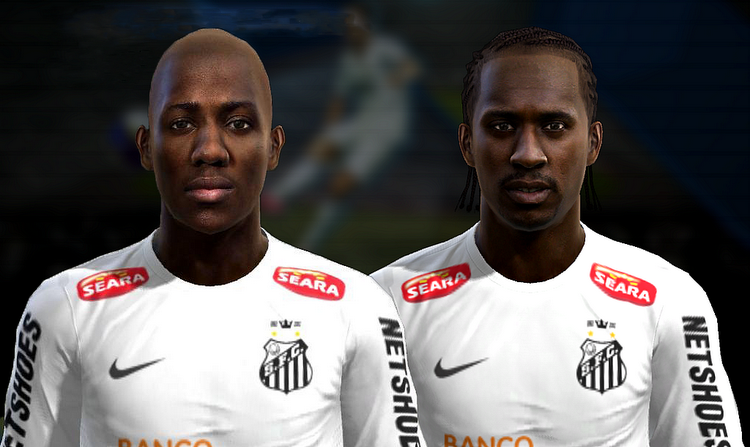 Victor Andrade e Arouca Faces - PES 2013