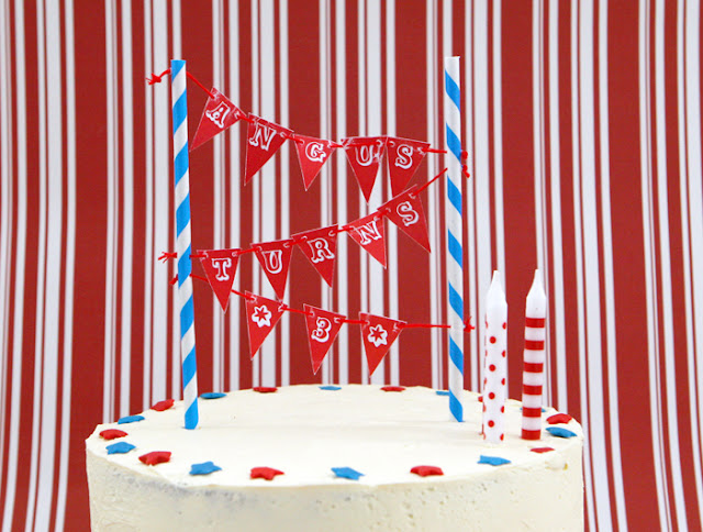 The TomKat Studio Blog{DIY Party Projects} Mini Cake Bunting