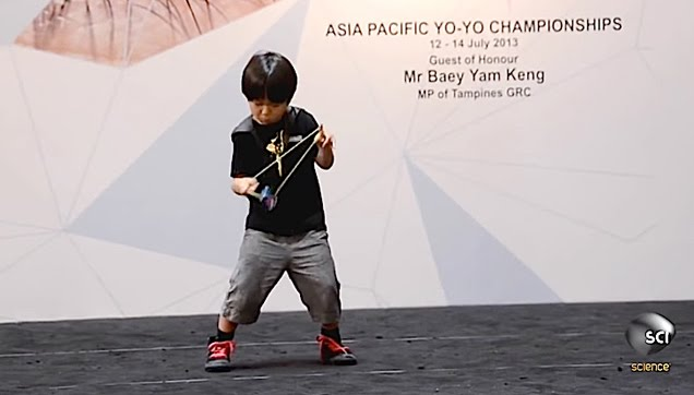 An Incredible 6-Year-Old Yo-Yo Master