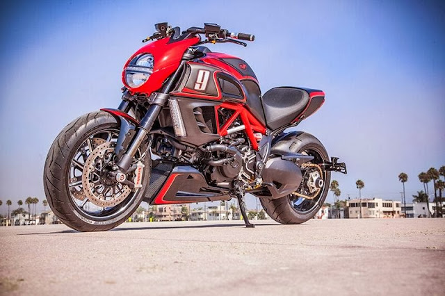 Custom Ducati Diavel | RSD Custom Ducati Diavel | Ducati Diavel Customs | Diavel exhaust | Motorcycle KH9 RSD Ducati Diavel