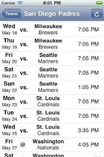 schedule maker for sports