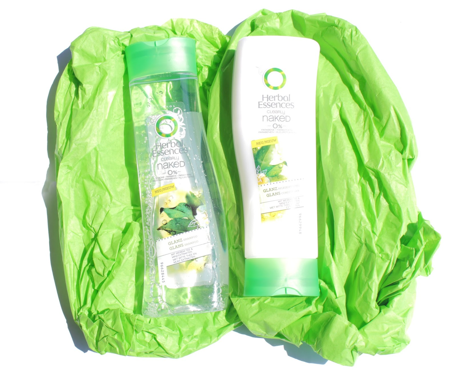 herbal essences clearly naked glanz pflegeserie review. Black Bedroom Furniture Sets. Home Design Ideas