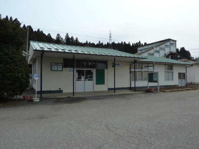 気仙沼線 津波の被害状況 本吉駅