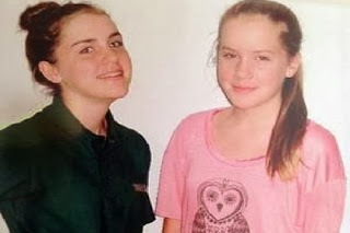 In a tragic accident in Yonkers, NY, Kalie Gill (left) was killed, and her sister Lindsay was seriously injured.