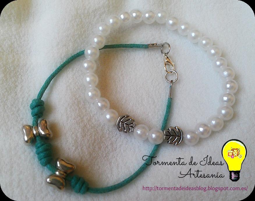 pulseras-perlas-lazos