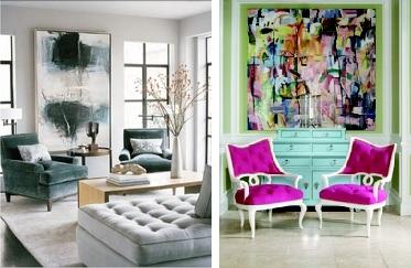 Decoracion con cuadros decorar tu casa es for Decoracion con cuadros