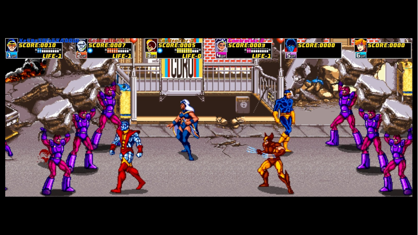 x men the arcade game retro reflections chalgyr s game room