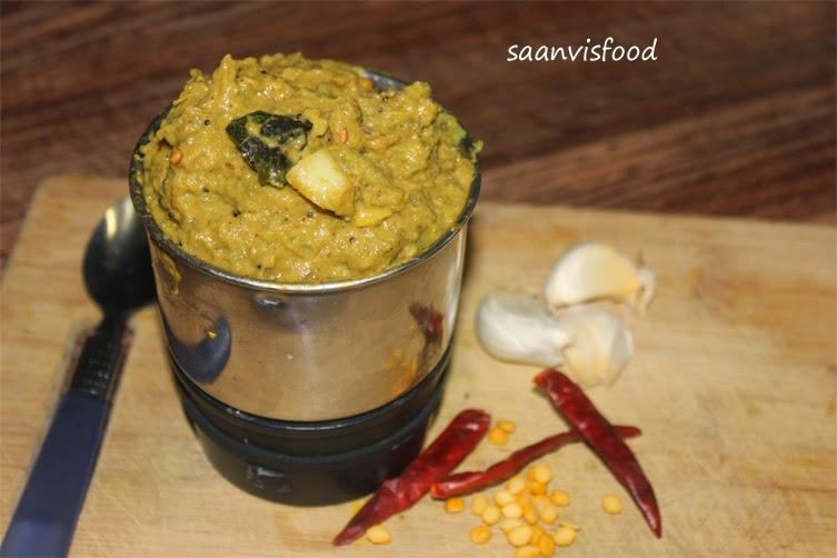 Beerakaya Nuvvula Pachadi / Ridge Gourd Sesame Seeds Chutney