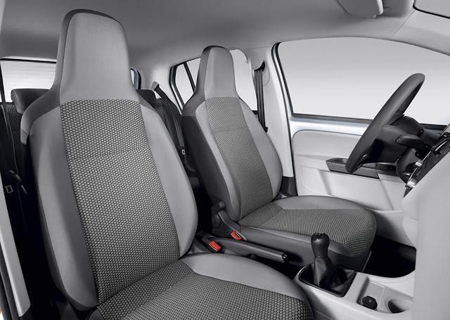 Volkswagen Up! TSI Turbo 2016 - move-up! - interior
