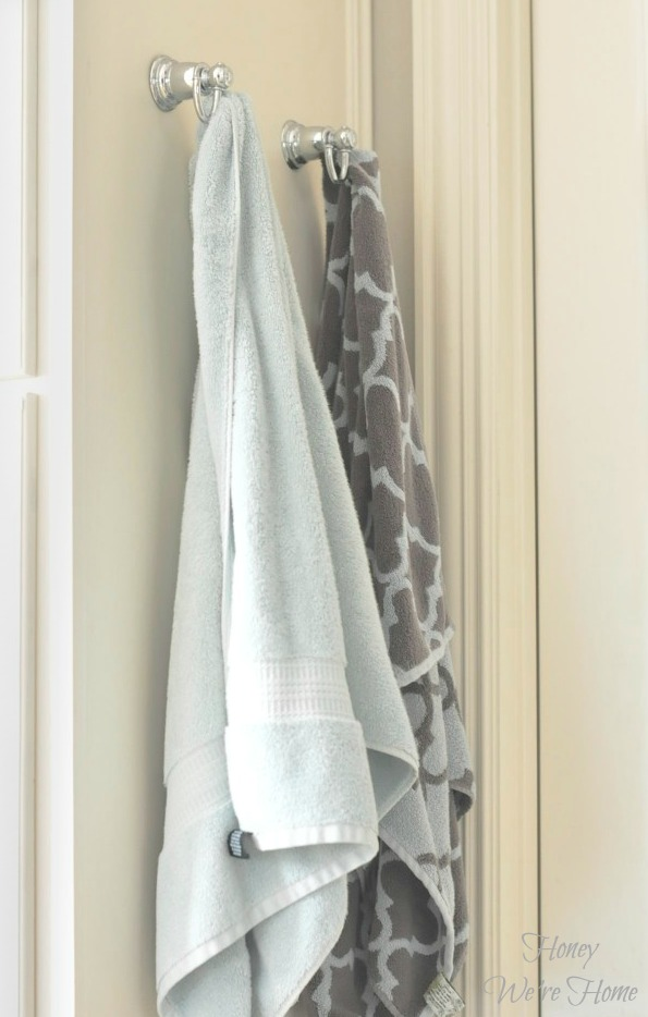 Keeping Bathroom Towels Fresh Honey Were Home - Fish bath towels for small bathroom ideas