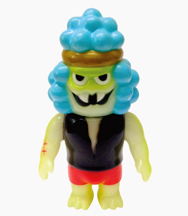 Glow in the Dark Hollis Turd Vinyl Figure by Super7