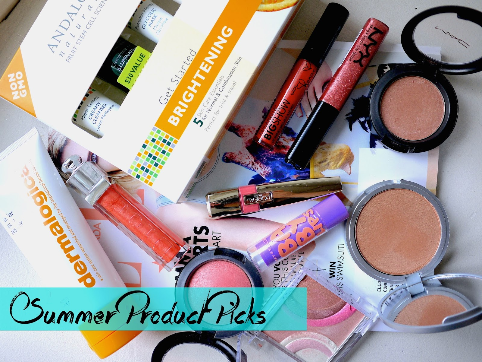 summer beauty product picks