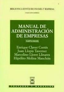 Librería Cilsa: Manual de Administración de empresas. Económicas y Empresariales.