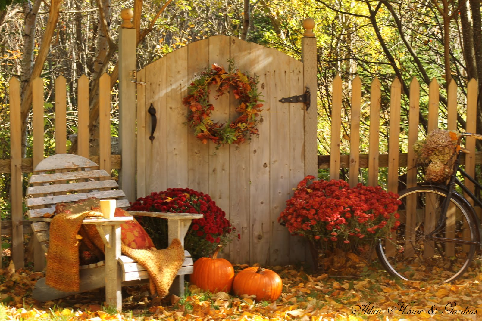 Aiken house gardens sunny autumn respite for Aiken house