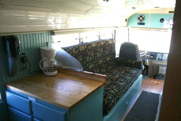 Used Rvs 1985 Blue Bird All American Rv Conversion Bus For