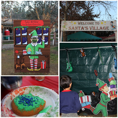 irvine park railroad santa's village activities