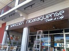 Rotulo en Café Selección Nicaragüense