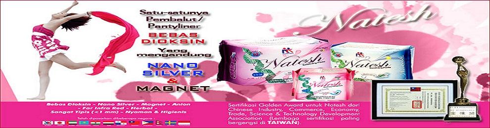 Toko Pembalut Natesh Herbal | Natesh Sanitary Pads & Pantyliner