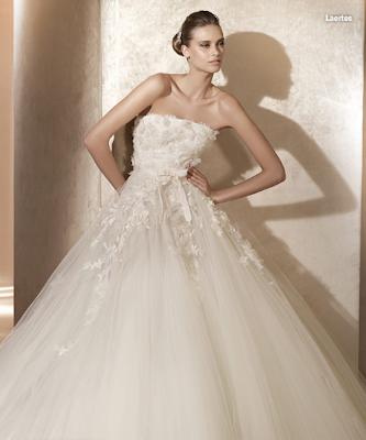 Elie Strapless Wedding Dresses